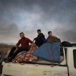 اليوم الثالث للعدوان التركي... تفجير داعش في القامشلي ونزوح 100 ألف سوري