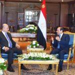السيسى والرئيس العراقى يبحثان التطورات في سوريا