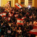 بيان.. 6 مطالب للمحتجين في لبنان:حكومة إنقاذ وطني ومحاسبة من نهبوا البلاد من 1990
