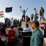 قتيل و50 مصابا إثر تفريق احتجاجات في بغداد