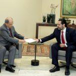 الرئيس اللبناني يطلب من حكومة الحريري تصريف الأعمال