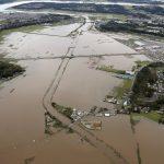 مصرع 58 شخصا بسبب الفيضانات في اليابان