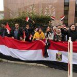 صور | الجالية المصرية في برلين تحتفل بذكرى انتصارات أكتوبر