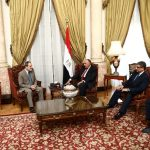 تفاصيل لقاء وزير الخارجية المصري وفدًا من مجلس سوريا الديمقراطية