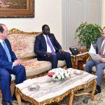 سلفا كير يدعو مصر لحضور مفاوضات السلام السودانية