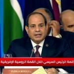 السيسي يجدد التزام مصر بالتنسيق الدولي لحل الأزمات بالطرق السلمية
