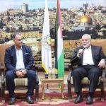 «هنية» يشيد بجهود مصر في التخفيف من معاناة سكان قطاع غزة