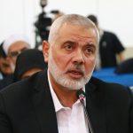 هنية يطمئن على المطران عطا الله حنا.. ويدين الجريمة الإسرائيلية