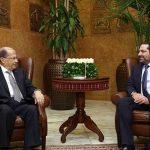 الحريري يصل قصر بعبدا للقاء اللرئيس اللبناني