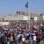 عراقيون يتظاهرون ضد النظام الإيراني أمام مقر الأمم المتحدة في أربيل