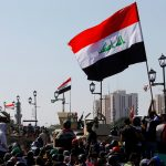 متظاهرون يحتشدون في ساحة التحرير ببغداد