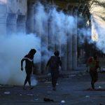 العراق: استشهاد شرطي وإصابة 33 في احتجاجات الناصرية