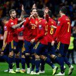 إسبانيا تسحق رومانيا وسط شكوك حول مستقبل المدرب مورينو