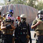 مقتل محتج طعنًا في اشتباك بين متظاهرين جنوب بغداد
