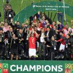 مصر تحرز لقب كأس الأمم الأفريقية تحت 23 عاما على حساب ساحل العاج