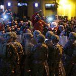 مراسلة الغد: كر وفر بين المحتجين وقوات الأمن اللبنانية