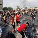 قتيلان في بغداد وشلل يصيب جنوب العراق