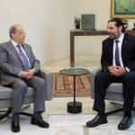 الحريري يلتقي عون في قصر بعبدا بحثا عن مخرج للأزمة اللبنانية