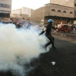 ارتفاع ضحايا مظاهرات بغداد إلى 3 قتلى