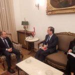 السفير الفرنسي يعلن دعم بلاده لتحقيق الاستقرار في لبنان