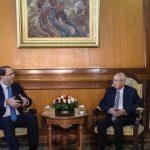 التنسيق الأمني بين تونس والجزائر يتصدر لقاء الشاهد وبن صالح