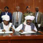 توقيع وثيقة مصالحة بين عدد من قبائل شرق السودان