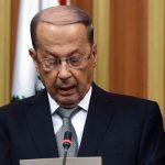 الرئيس اللبناني: مستعدون لتشكيل حكومة تضم ممثلين عن الحراك الشعبي