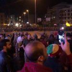 شاهد.. الأمن اللبناني يفصل بين المتظاهرين بعد اعتداء عناصر حزب الله عليهم