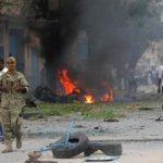 مصرع شرطيين في انفجار قنبلة في مقديشو