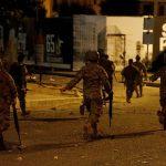 إصابة 6 متظاهرين في صيدا جنوبي لبنان