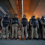 الشرطة الهندية تنتشر قبل بناء معبد في موقع مسجد تاريخي