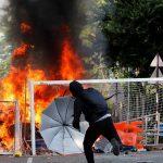 هجمات وأعمال تخريب في هونج كونج