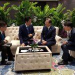 اجتماع زعيمي كوريا الجنوبية واليابان وسط استمرار التوتر