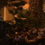 شاهد| مظاهرات أمام منزل حسان دياب رفضًا لتكليفه بتشكيل الحكومة اللبنانية
