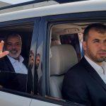 هنية يغادر قطاع غزة غدا في جولة إلي القاهرة وموسكو