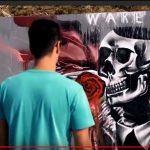 تجربة برتغالية لاستخدام فن الجرافيتي في إحياء الشوارع المتهالكة