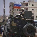 إصابة ثلاثة ضباط من الشرطة العسكرية الروسية في انفجار على حدود سوريا