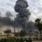 العراق.. إصابة 4 جنود إثر سقوط صواريخ كاتيوشا على قاعدة بلد