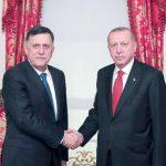 أردوغان يستقبل فايز السراج في إسطنبول
