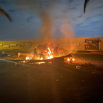 التلفزيون الرسمي: ضربة جوية أمريكية تستهدف فصيلا عراقيا شمالي بغداد