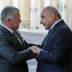 العاهل الأردني يؤكد لعبد المهدي ضرورة بذل كل الجهود لتجاوز التوتر بالمنطقة