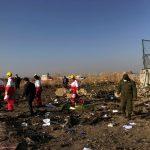 مصرع 170 شخصاً في تحطم الطائرة الأوكرانية المنكوبة في إيران
