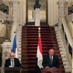 وزراء خارجية مصر وفرنسا وقبرص واليونان يدينون تحركات تركيا في البحر المتوسط