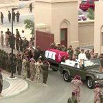 شاهد  مراسم تشييع جثمان السلطان قابوس بن سعيد في مسقط