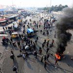 إصابة قائد شرطة ذي قار في اشتباكات مع المتظاهرين بالعراق