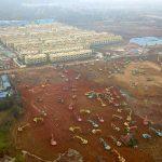 بناء مستشفيات لخدمة مرضى كورونا في ووهان باستثمارات 43,5 مليون دولار