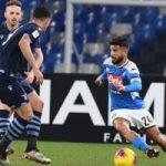 نابولي يطيح بالبطل لاتسيو وينسى أحزانه في كأس ايطاليا