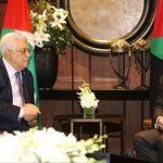 العاهل الأردني يؤكد لعباس: موقفنا ثابت من القضية الفلسطينية