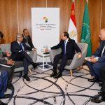السيسي يبحث تعزيز التعاون مع رئيس وزراء موريشيوس في لندن