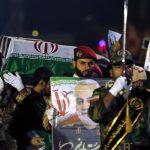 حشد كبير في الأحواز بإيران لوداع سليماني